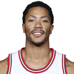 Derrick Rose 2014/2015 Headshot