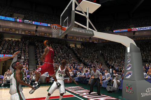 Ben Gordon with the reverse in NBA Live 06