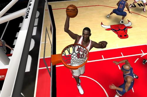 Shawn Kemp in NBA Live 06