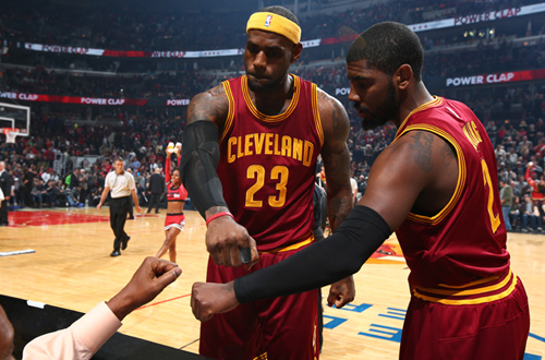 LeBron James & Kyrie Irving