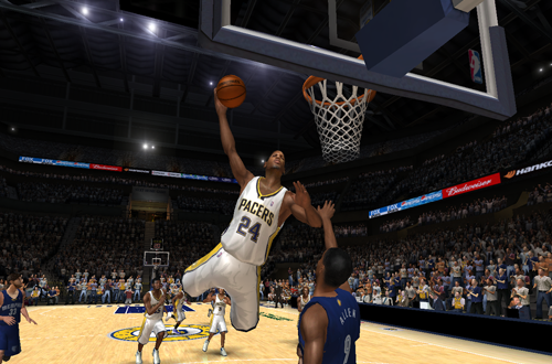 Paul George in the 2012/2013 Roster for NBA Live 06