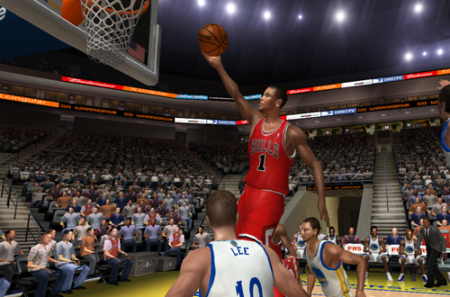 Derrick Rose in the 2012/2013 Roster for NBA Live 06