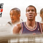 Sean Elliott, Larry Nance, and Jalen Rose in NBA Live 15 Ultimate Team
