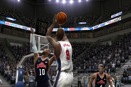 Michael Jordan in the 2012/2013 Roster for NBA Live 2005