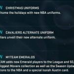 NBA 2K15 Christmas Updates