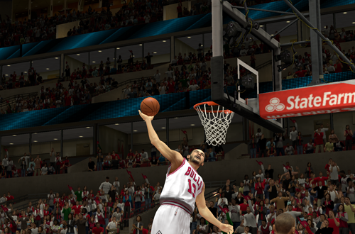 Joakim Noah dunks in NBA 2K14
