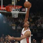 Hassan Whiteside dunks in NBA 2K15