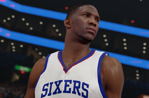 Joel Embiid in NBA 2K15