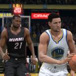 Klay Thompson & Hassan Whiteside in NBA Live 15