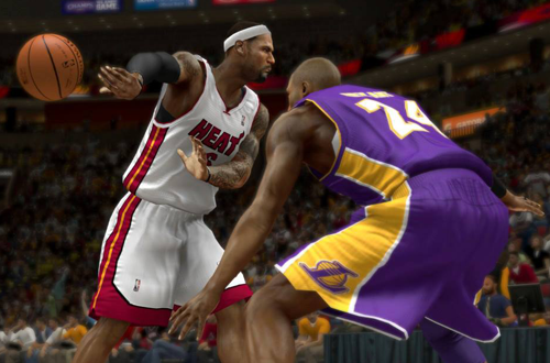 LeBron James vs. Kobe Bryant in NBA 2K14