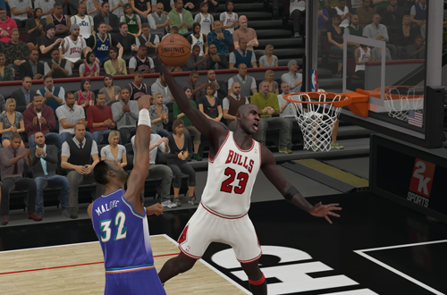 Michael Jordan in NBA 2K15