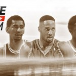 Alonzo Mourning, George Gervin, and David Thompson in NBA Live 15 Ultimate Team