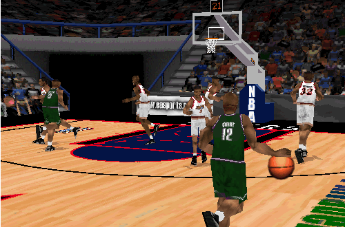Michael Curry in NBA Live 98