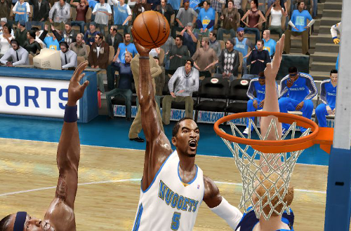 J.R. Smith in NBA Live 10
