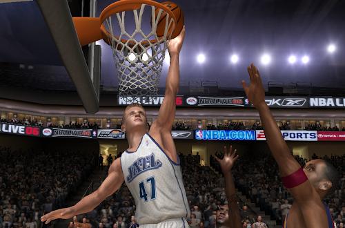 Andrei Kirilneko in NBA Live 06