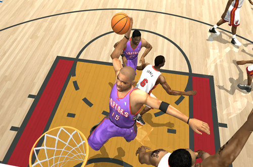 Vince Carter in NBA Live 2004