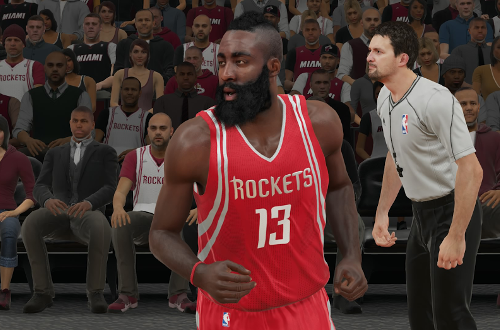 James Harden in NBA 2K15