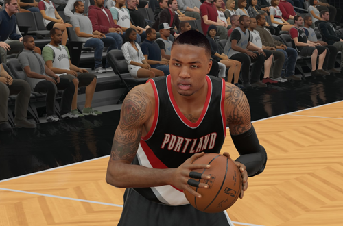 Damian Lillard in NBA 2K15