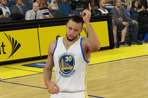 Stephen Curry in NBA 2K15