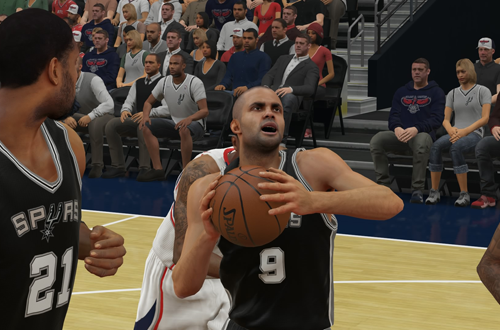 Tony Parker in NBA 2K15
