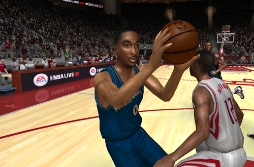 Gilbert Arenas in NBA Live 08