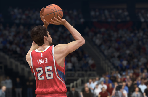 Kyle Korver in NBA Live 15