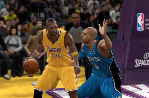 Kobe Bryant in NBA 2K10