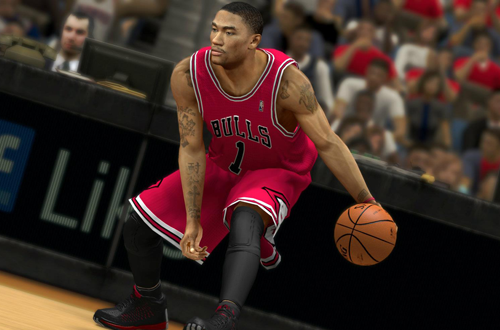 Derrick Rose in NBA 2K13