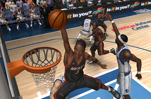 Dwyane Wade in NBA Live 06 PC