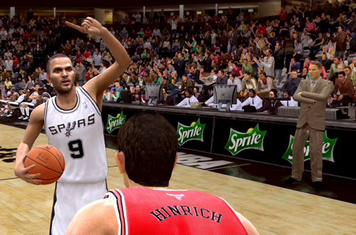 Tony Parker in NBA Live 09