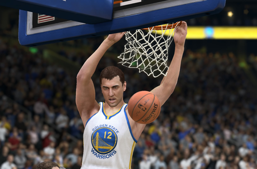 Andrew Bogut is appearing in his first NBA Finals