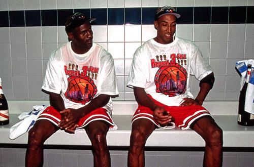 Michael Jordan & Scottie Pippen, 1998 NBA Finals