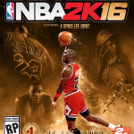 NBA 2K16 Special Edition Cover Featuring Michael Jordan