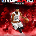NBA 2K16 Anthony Davis Cover