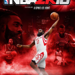 NBA 2K16 James Harden Cover