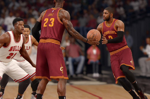 Kyrie Irving in NBA Live 16