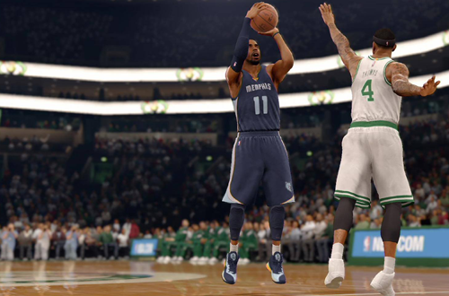 Mike Conley in NBA Live 16