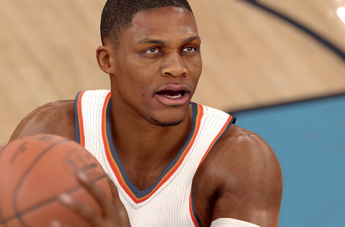 Russell Westbrook in NBA Live 16