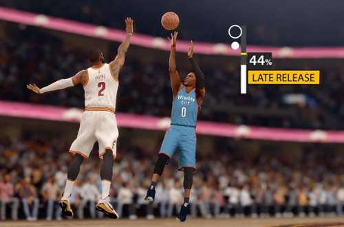 The New Shot Meter in NBA Live 16