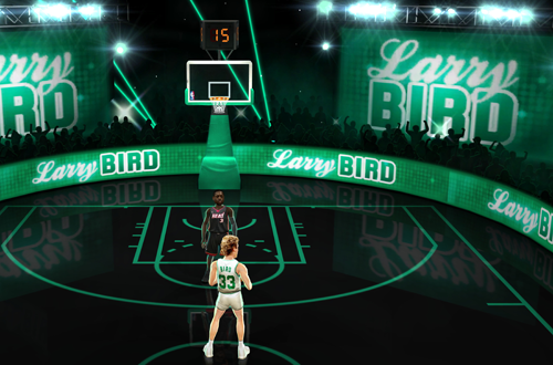 Larry Bird Boss Battle in NBA Jam (2010)