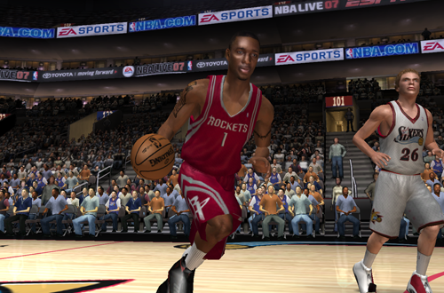 Tracy McGrady in NBA Live 07