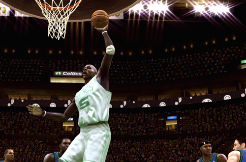 Kevin Garnett in NBA Live 08 (Xbox 360)