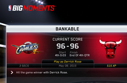 BIG Moments: Bankable in NBA Live 15