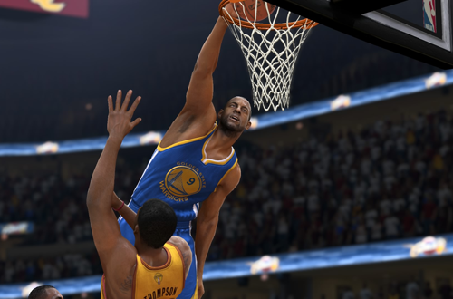 Andre Iguodala dunks in NBA Live 15