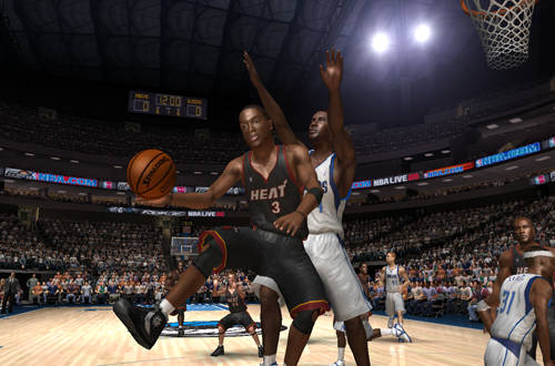 Dwyane Wade in NBA Live 06