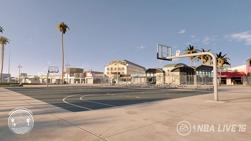 NBA Live 16: Venice Beach