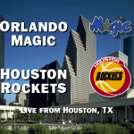 Orlando Magic vs. Houston Rockets in NBA Live 95