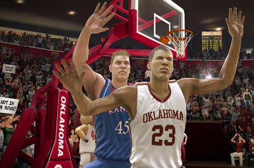 Blake Griffin in NCAA Basketball 10