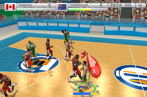 Rocket Pack Power-Up in Incredibasketball