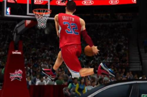 Dunk Contest in NBA 2K13